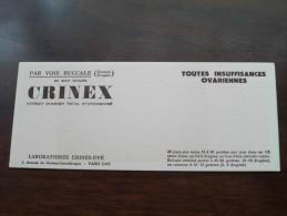 CRINEX ( Lab. Crinex-Uvé Paris - Details Zie Foto ) ! - Produits Pharmaceutiques