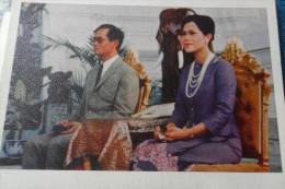 King Queen Rois Thailand Thailande Vintage - Saisons & Fêtes