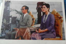 King Queen Rois Thailand Thailande Vintage - Unclassified