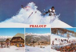 04 - PRALOUP - La Station - Les Boutiques - Les Pistes - Animée - Circulée - 2 Scans - Édiions Des Alpes - - Autres Communes