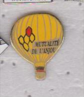 Pin's MONTGOFIERE Mutualité De L'ANJOU - Airships