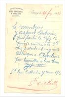 Lettre à Entête - Société John COCKERILL 1913 - SERAING - 1900 – 1949