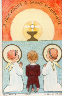 Je Vous Adore ô Sainte Eucharistie - Images Religieuses