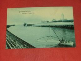 BLANKENBERGE - BLANKENBERGHE  -  Pêcheur D´anguilles  - 1909 - Blankenberge