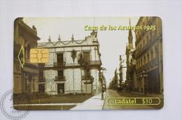 Collectible Mexico Phone Card - Pillars Of Our History - Casa De Los Azulejos 1925 - Ladatel - Tarjetas Telefónicas