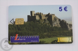 Collectible Spain Phone Card - Castillos Con Historia/ Castles With History - Loarre (Huesca) - Tarjetas Telefónicas