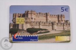 Collectible Spain Phone Card - Castillos Con Historia/ Castles With History - Coca (Segovia) - Tarjetas Telefónicas