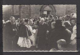 08 - Mézières - 1939 -  Mg Ruch Visite Les Alsaciens De Seltz Réfugiés A Mézière - Carte Photo - France