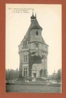 CPA  FRANCE  37  -  CHENONCEAUX  -  152  La Tour Du Moulin Et Le Puits Du Château  ( Dos Simple Grand Bazar Tours ) - Chenonceaux