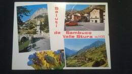 Saluti Da Sambuco Valle Stura M. 1135 - Italia