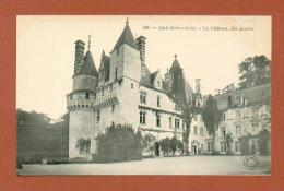 CPA  FRANCE  37  -  RIGNY-USSÉ  -  226  Le Château D´Ussé, Aile Gauche  ( Dos Simple Grand Bazar Tours ) - Altri Comuni