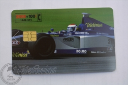 Collectible Phone Card Telefonica - F1 - Voitures