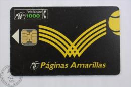 Collectible Phone Card Telefonica - Master Nacional De Tenis Barcelona Palau Sant Jordi 1994 - Deportes