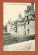 CPA  FRANCE  37  -  RIGNY-USSÉ  -  227  Le Château D´Ussé, Côté Est  ( Dos Simple Grand Bazar Tours ) - Autres Communes