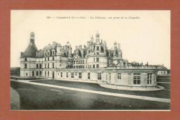 CPA  FRANCE  41  -  CHAMBORD  -  239  Le Château, Vue Prise De La Chapelle  ( Dos Simple Grand Bazar, Tours ) - Chambord