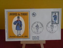 FDC- Journée Du Timbre 1968 - Paris - 16.3.1968 - 1er Jour, - FDC