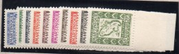 MARTINIQUE : Taxe N° 27/36** - Martinique (1886-1947)