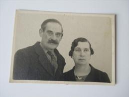 Originalfoto 1930/40er Jahre. Großeltern. Marokko / Frankreich. Blauer Stempel: 32 Stalag XC Geprüft - Guerra, Militares