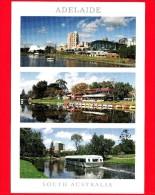 AUSTRALIA - Cartolina Viaggiata Nel 2011 - - South - Adelaide  - Vedute - Adelaide