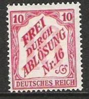 Allemagne - République Démocratique - Service - 1905 - Y&T Bade 4 - Michel 12 - Neuf * - Service
