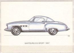 Wartburg 313 Sport , 1957 - PKW
