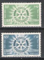 Libanon Y/T 112 / 113 (**) - Liban