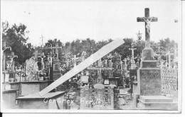Cimetière De Brest Bretagne 1918-1919 1carte Photo 14-18 1914-1918 Ww1 WwI Wk - War, Military