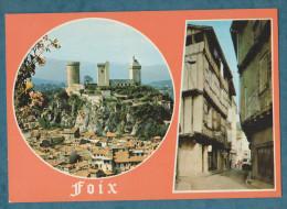 20 SCANS - 09 - ARIEGE - FOIX  -  La Ville,  Lot De 10  Cartes Postales Modernes - Non écrites - Cartoline