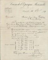 Caisse D'Epargne Mensuelle/ L. GUY & Cie/remise D'un Dixiéme D'Obligation /Godfroy/La Couture Boussey/ 1889    BA26 - Bank & Insurance