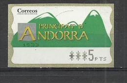 SPANISH ANDORRA - MNH MINT NEUF NUEVO - Andorre Espagnol