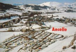 04 - Ancelle - Vue Sur La Station - Caravaneige - Circulée 1988 - 2 Scans - - Autres Communes