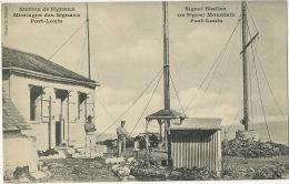 Signal Station On Signal Mountain Port Louis TSF Edit G. Rehaut - Mauritius