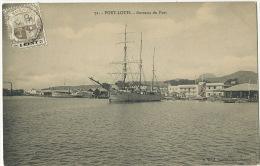 Port Louis 72 Bureaux Du Port  Maximum Card Ship Edit Vidal - Maurice