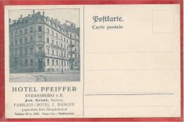 67 - STRASSBURG- STRASBOURG - Hotel Pfeiffer - Place De La Gare - Strasbourg