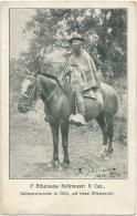 P. Athanasius Hollermayer O. Cap Missionnaire Des Indiens A Cheval  Autograph  - Chile