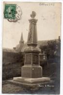 DAMOUSIES (59) - CARTE PHOTO DU MONUMENT AUX MORTS - France
