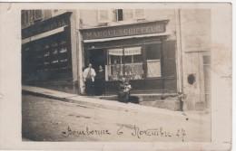 BOURBONNE-les-BAINS : (52)  CARTE PHOTO Coiffeur MARCEL - Bourbonne Les Bains
