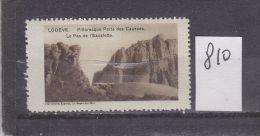 FRANCE. TIMBRE. VIGNETTE. CINDERELLA.......34 LODEVE HERAULT PORTE DES CAUSSES LE PAS DE L ESCALETTE - Tourism (Labels)