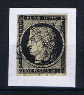 France: 1849 Yv 3a Obl/used.