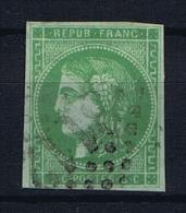 France: 1870 Yv 42B  Obl/used. - 1870 Bordeaux Printing