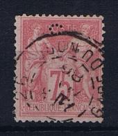 France: 1876 Yv 81 Obl/used. Avec Un Petit Perforation : C