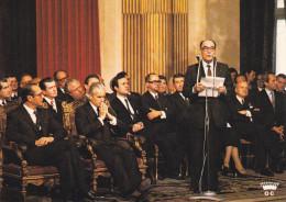 CPSM  ELECTION PRESIDENTIELLE FRANCOIS MITERRAND ELU RECU PAR J CHIRAC HOTEL DE VILLE PARIS N°6    LOUBATIERES 1000 EX - Eventi
