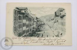 1899 Old Postcard Germany - Gruss Aus Waldshut - Hauptstrasse - Randewich´s Bazar, Waldshut - Posted - Waldshut-Tiengen