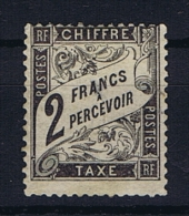 France:  Tax Yv  23 MH/*, - Segnatasse