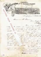 Brief 1900 - ASCHAFFENBURG -Actien Gesellschaft Für Buntpapier & Leimfabrikation-S.A. Pour La Fabrication Papier Colorié - Allemagne