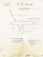 Brief 1901 - BERG-GLADBACH - J.W. ZANDERS - Allemagne