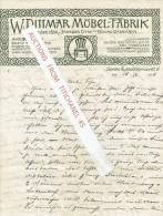 Brief 1918 BERLIN - W. DITTMAT - Möbel-fabrik - Allemagne