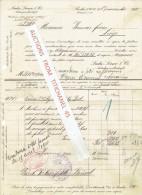 Rechnung 1910 BERLIN - LUDW. LOEWE & Co. - Gesellschaft Für Elektrische Unternehmungen - Allemagne