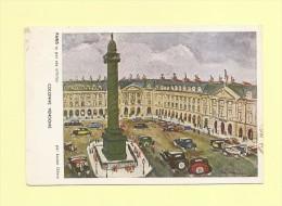 La Moisson - Legers DefautsColonne Vendome - Paris Vu Par Ses Artistes - Lucien Genin - Non Classés