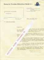 Lettre De 1941 BRUXELLES - BRUSSEL - VERLAG DER DEUTCHEN ARBEITSFRONT BRÜSSEL - Belgique